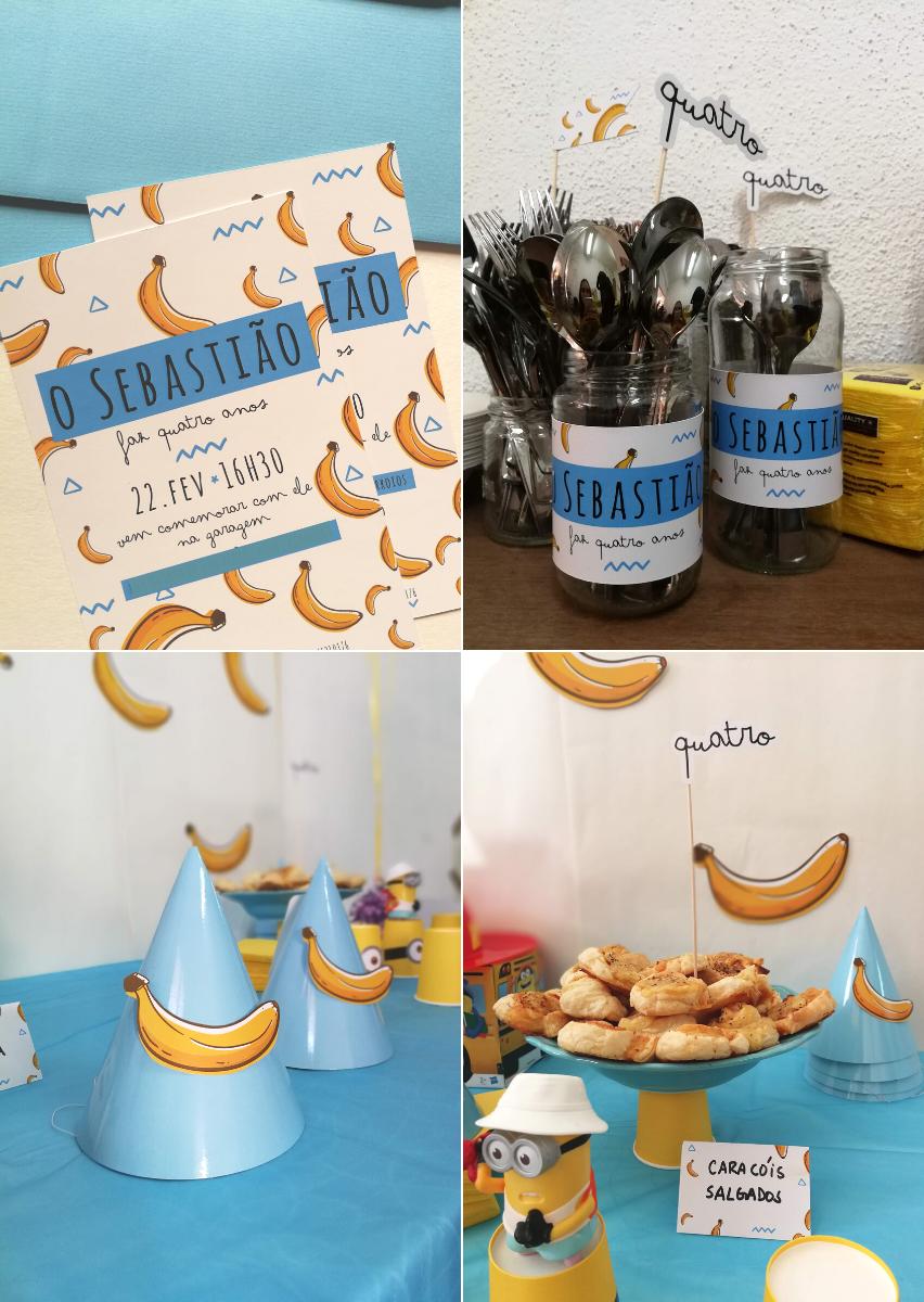 Kit de Festa criança personalizado