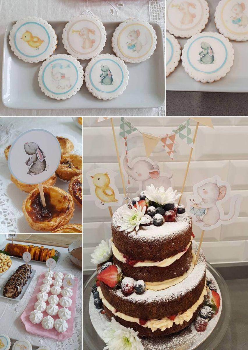 Palitinhos decorativos_festa aniversário animais