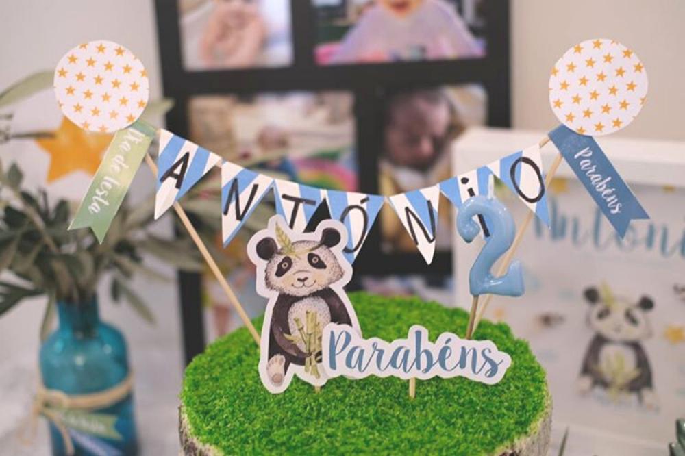panda festa infantil